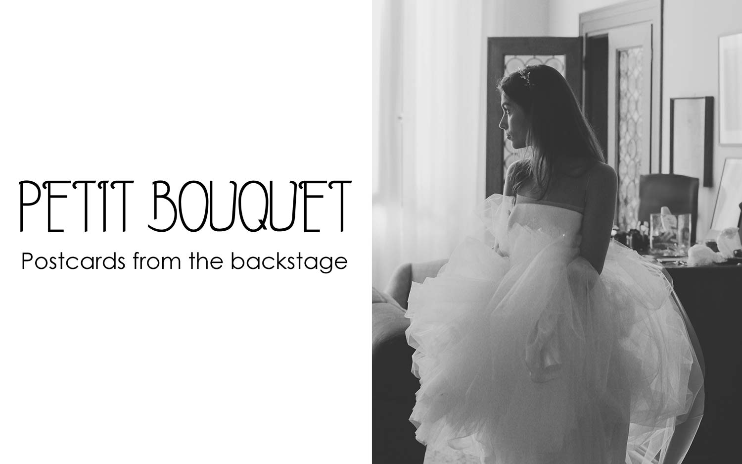 Petit Bouquet - Postacards from the backstage